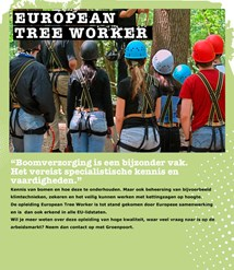 European Tree Worker/Boomverzorging